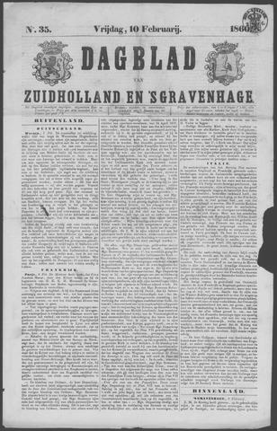 Dagblad van Zuid-Holland 1860-02-10