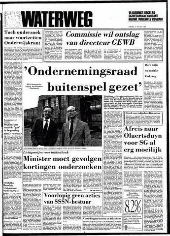Rotterdamsch Nieuwsblad / Schiedamsche Courant / Rotterdams Dagblad / Waterweg / Algemeen Dagblad 1983-01-14