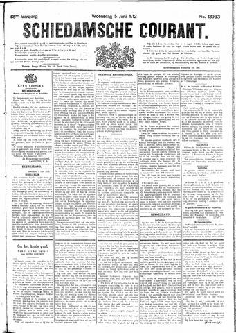 Schiedamsche Courant 1912-06-05