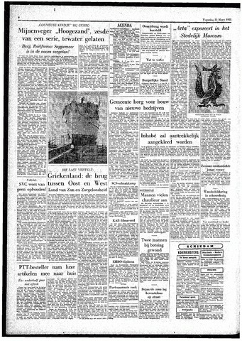 Rotterdamsch Parool / De Schiedammer 1955-03-23