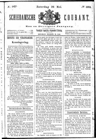 Schiedamsche Courant 1877-05-26
