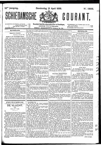 Schiedamsche Courant 1898-04-21