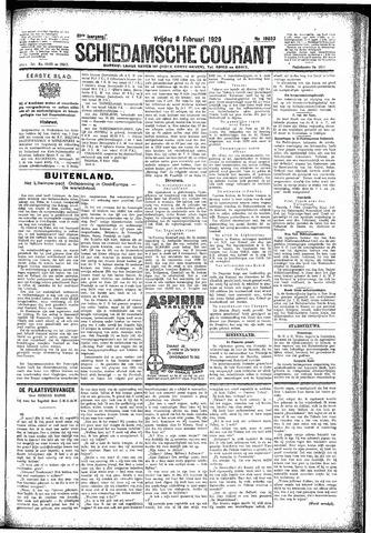 Schiedamsche Courant 1929-02-08
