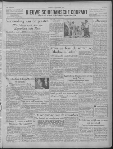 Nieuwe Schiedamsche Courant 1949-09-27