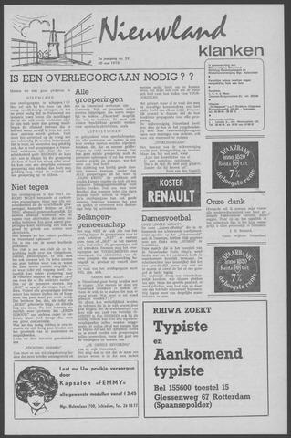 Nieuwland Klanken 1970-05-20