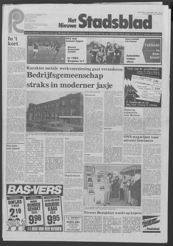 Het Nieuwe Stadsblad 1983-11-16