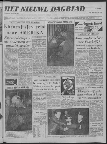 Nieuwe Schiedamsche Courant 1962-10-18