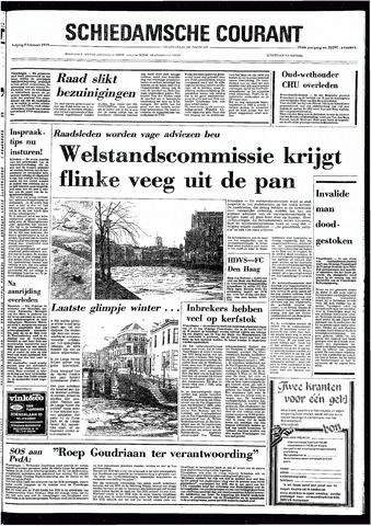 Rotterdamsch Nieuwsblad / Schiedamsche Courant / Rotterdams Dagblad / Waterweg / Algemeen Dagblad 1979-02-09