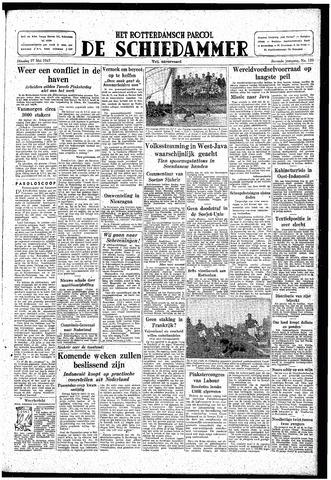 Rotterdamsch Parool / De Schiedammer 1947-05-27