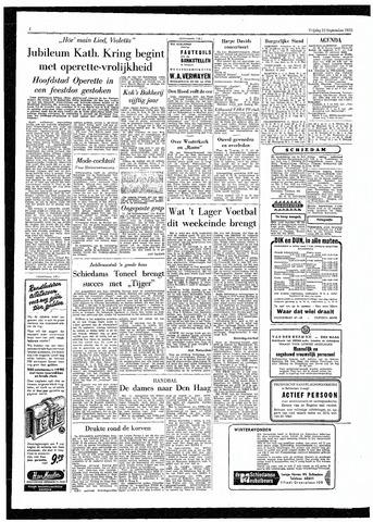 Rotterdamsch Parool / De Schiedammer 1955-09-23