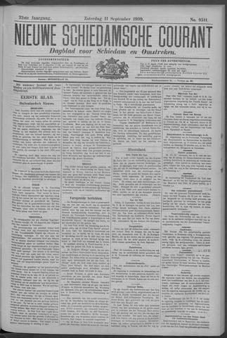 Nieuwe Schiedamsche Courant 1909-09-11