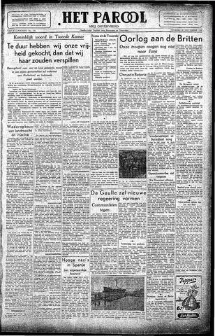 Rotterdamsch Parool / De Schiedammer 1945-11-20
