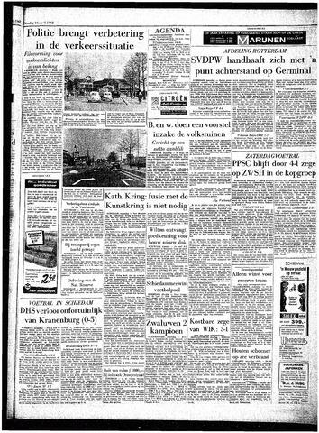 Rotterdamsch Parool / De Schiedammer 1962-04-24