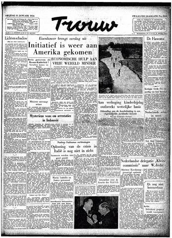 Trouw / De Rotterdammer 1954-01-08