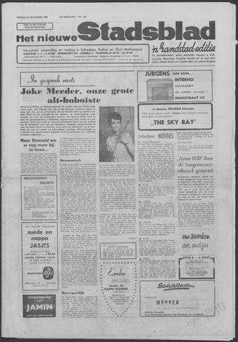 Het Nieuwe Stadsblad 1966-09-30