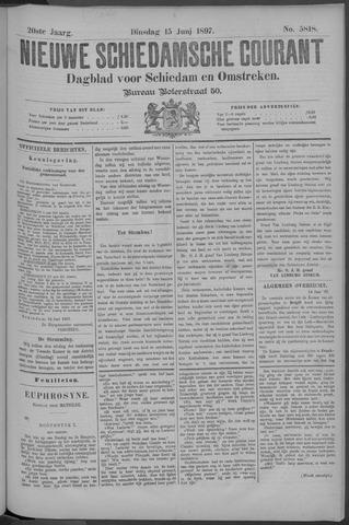 Nieuwe Schiedamsche Courant 1897-06-15