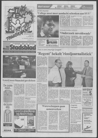 Het Nieuwe Stadsblad 1989-10-25
