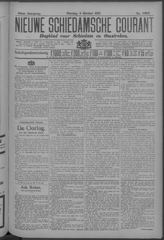 Nieuwe Schiedamsche Courant 1917-10-09