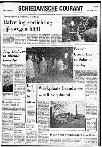 Rotterdamsch Nieuwsblad / Schiedamsche Courant / Rotterdams Dagblad / Waterweg / Algemeen Dagblad 1974-01-14