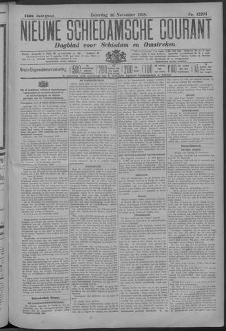 Nieuwe Schiedamsche Courant 1918-11-16