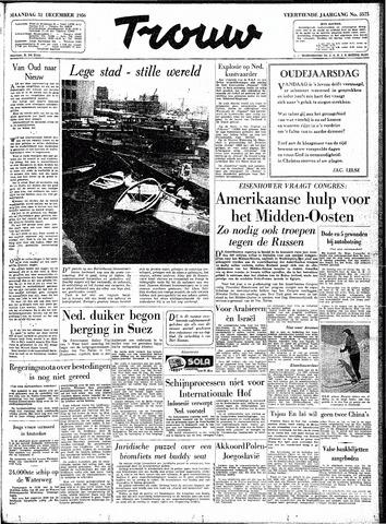 Trouw / De Rotterdammer 1956-12-31