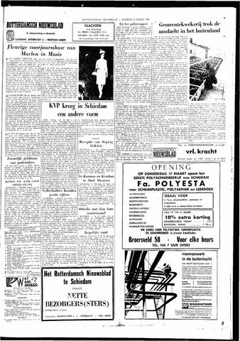 Rotterdamsch Nieuwsblad / Schiedamsche Courant / Rotterdams Dagblad / Waterweg / Algemeen Dagblad 1966-03-15