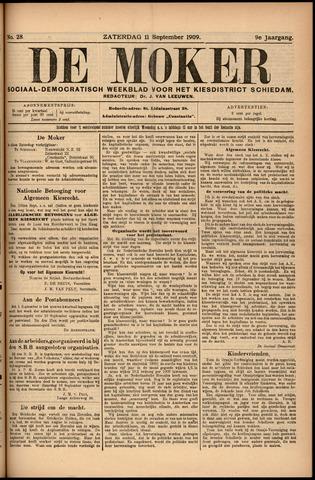 De Moker 1909-09-11