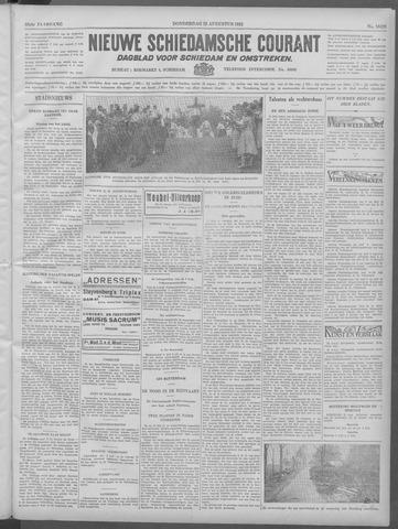 Nieuwe Schiedamsche Courant 1932-08-25