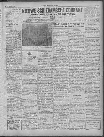 Nieuwe Schiedamsche Courant 1932-02-05
