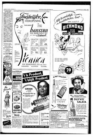 Rotterdamsch Nieuwsblad / Schiedamsche Courant / Rotterdams Dagblad / Waterweg / Algemeen Dagblad 1953-04-23