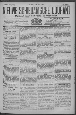 Nieuwe Schiedamsche Courant 1909-07-24