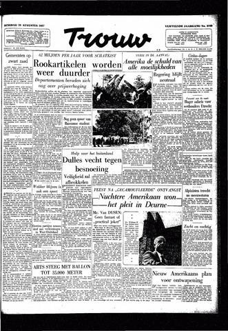 Trouw / De Rotterdammer 1957-08-20