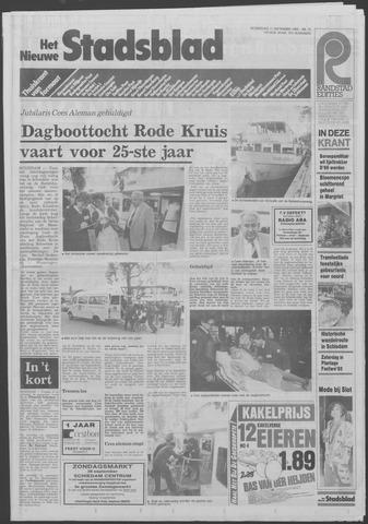 Het Nieuwe Stadsblad 1985-09-11