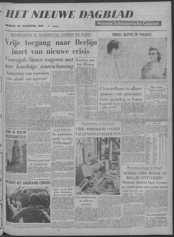 Nieuwe Schiedamsche Courant 1961-08-25