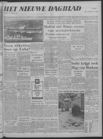 Nieuwe Schiedamsche Courant 1962-11-12