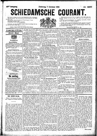 Schiedamsche Courant 1916-10-07