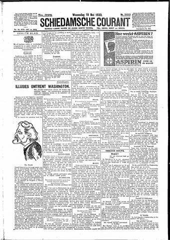 Schiedamsche Courant 1933-05-10