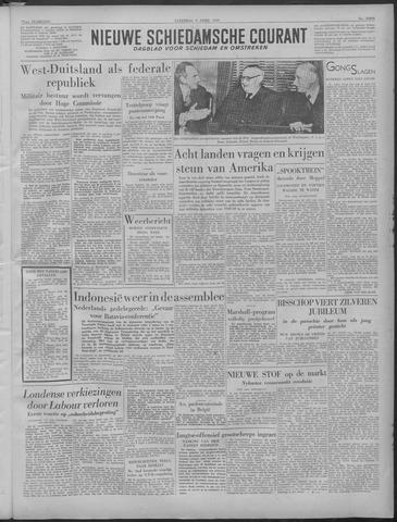 Nieuwe Schiedamsche Courant 1949-04-09