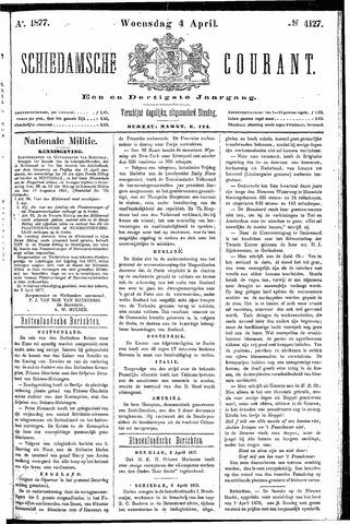 Schiedamsche Courant 1877-04-04