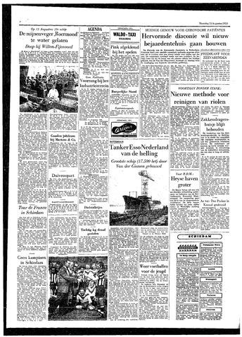 Rotterdamsch Parool / De Schiedammer 1955-08-15