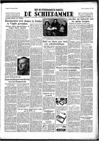 Rotterdamsch Parool / De Schiedammer 1948-12-17