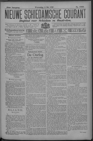 Nieuwe Schiedamsche Courant 1917-05-09