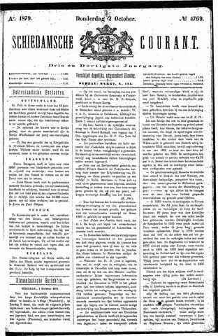 Schiedamsche Courant 1879-10-02