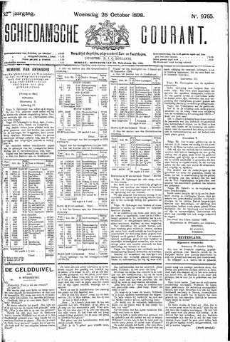 Schiedamsche Courant 1898-10-26