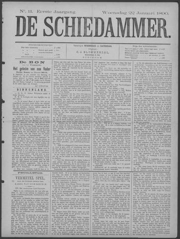 De Schiedammer 1890-01-22