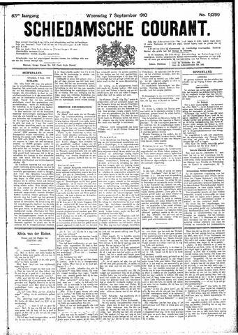 Schiedamsche Courant 1910-09-07