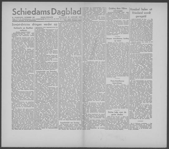 Schiedamsch Dagblad 1945-01-29
