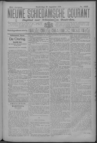 Nieuwe Schiedamsche Courant 1918-08-29