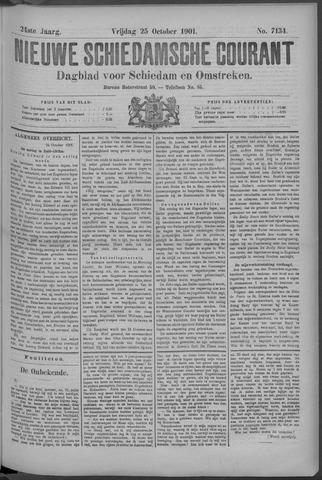 Nieuwe Schiedamsche Courant 1901-10-25