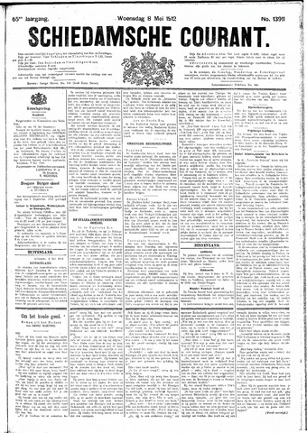 Schiedamsche Courant 1912-05-08